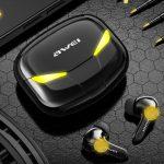 AWEI T35: سماعات رأس TWS للألعاب بقيمة 22 دولارًا مع إضاءة RGB وزمن انتقال منخفض
