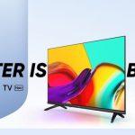 Realme Smart TV Neo: تلفزيون 32 بوصة مع حواف رفيعة ومكبرات صوت 20 واط وتلفزيون يعمل بنظام Android وسعر 205 دولارًا