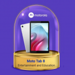 Motorola has started teasing the release of the Moto Tab 8, it could be a renamed version of the Lenovo tablet