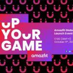 أعلن Huami عن العرض التقديمي في 11 أكتوبر: ننتظر الحدث مع الساعات الذكية Amazfit GTR 3 و Amazfit GTS 3