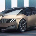 BMW showed the electric car of the future, which can be 100% recyclable