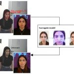 The neural network shows how to apply makeup to trick the facial recognition system