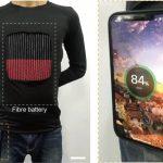 صنع العلماء ملابس تشحن الهواتف الذكية والأدوات القابلة للارتداء