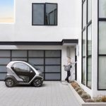 Urban microelectric vehicle Eli Zero charges from a home outlet in 2.5 hours