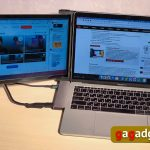 How to double your laptop screen and stay mobile: Mobile Pixels DUEX Plus USB monitor convertible review